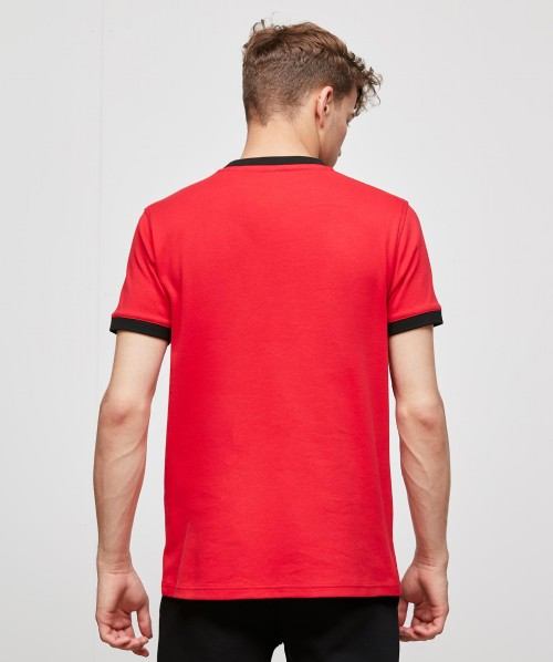 Fausto Ringer Embroidered T-Shirt