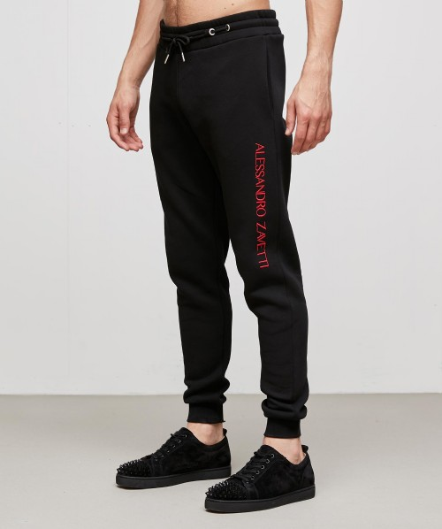 Fausto Embroidered Slim Jogger
