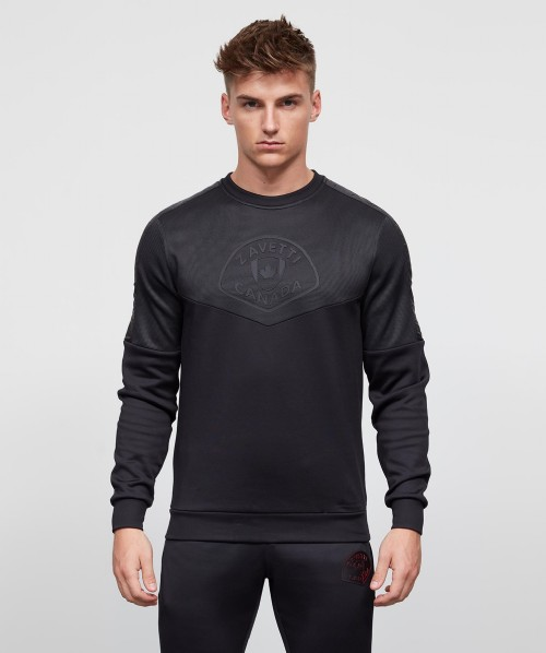 Villaria Nylon Panel Sweatshirt