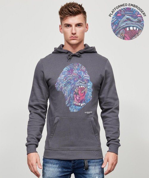 Rage Hooded Top