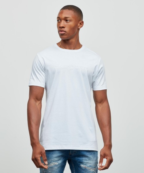 Demino Mercerised Logo T-Shirt