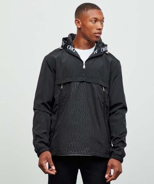 Tesidro 1/4 Zip AOP Windbreaker Jacket