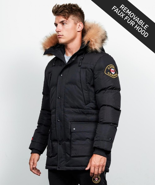Turveno Hooded Parka Jacket
