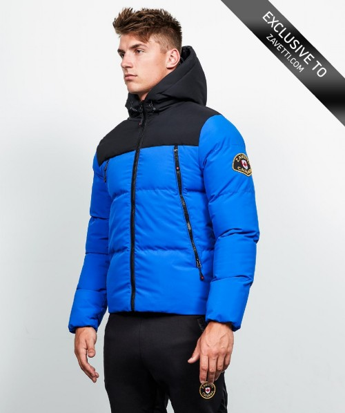 Malvini Tape Full Zip Hooded Puffer Jacket