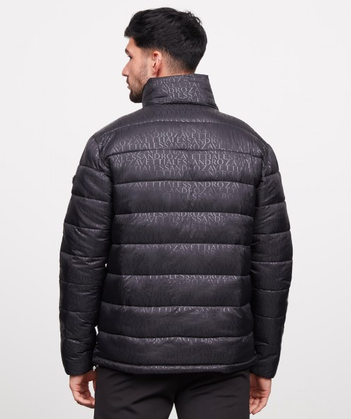 Tessini AOP Full Zip Puffer Jacket